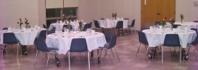 Typical Large Hall Dinner Area
